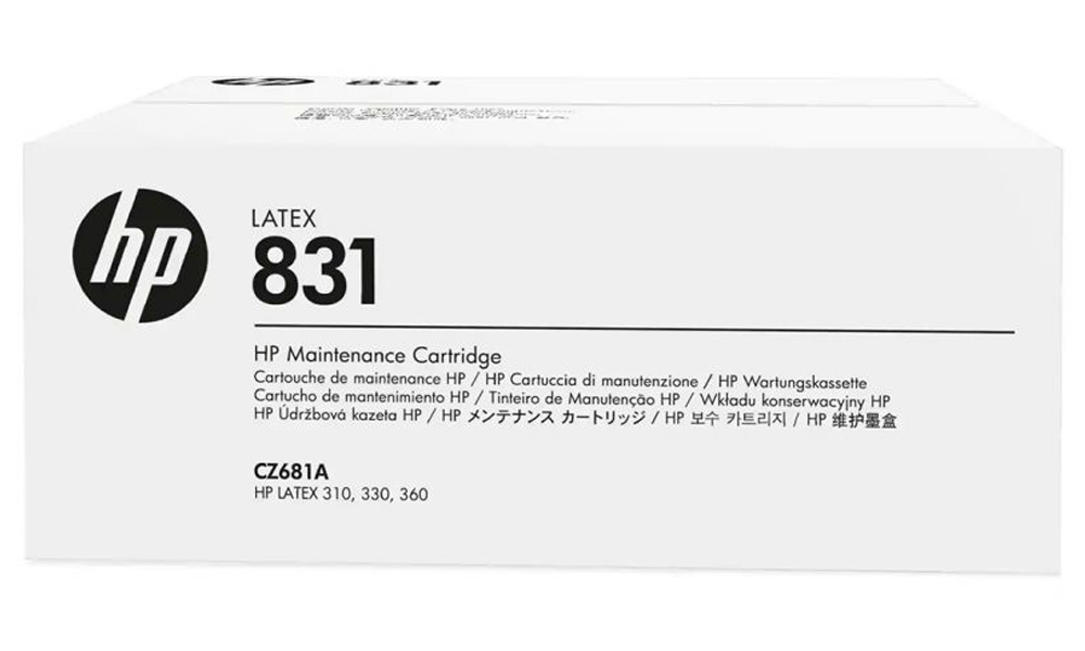 HP 831 Latex Maintenance Cartridge CZ681A