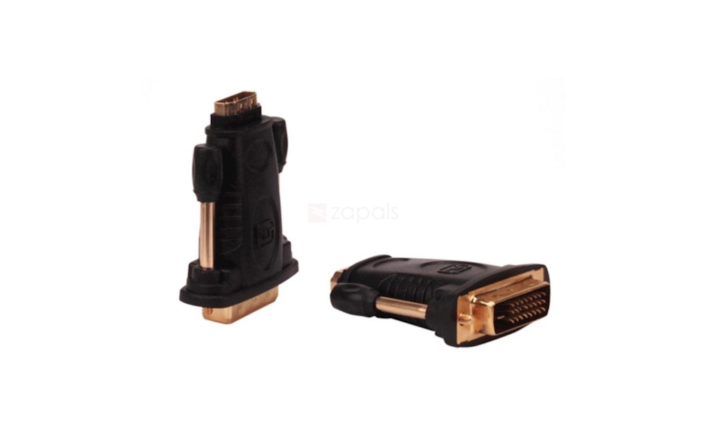 VENTION DV380HD DVI Male to HDMI Female Adapter Black