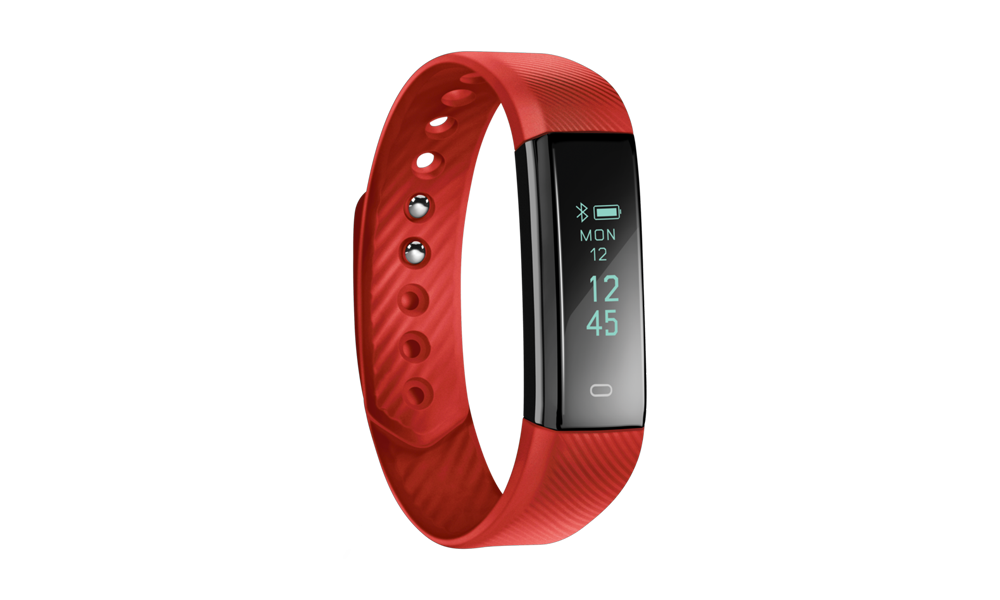Acme ACT101R Fitness Activity Tracker - Red