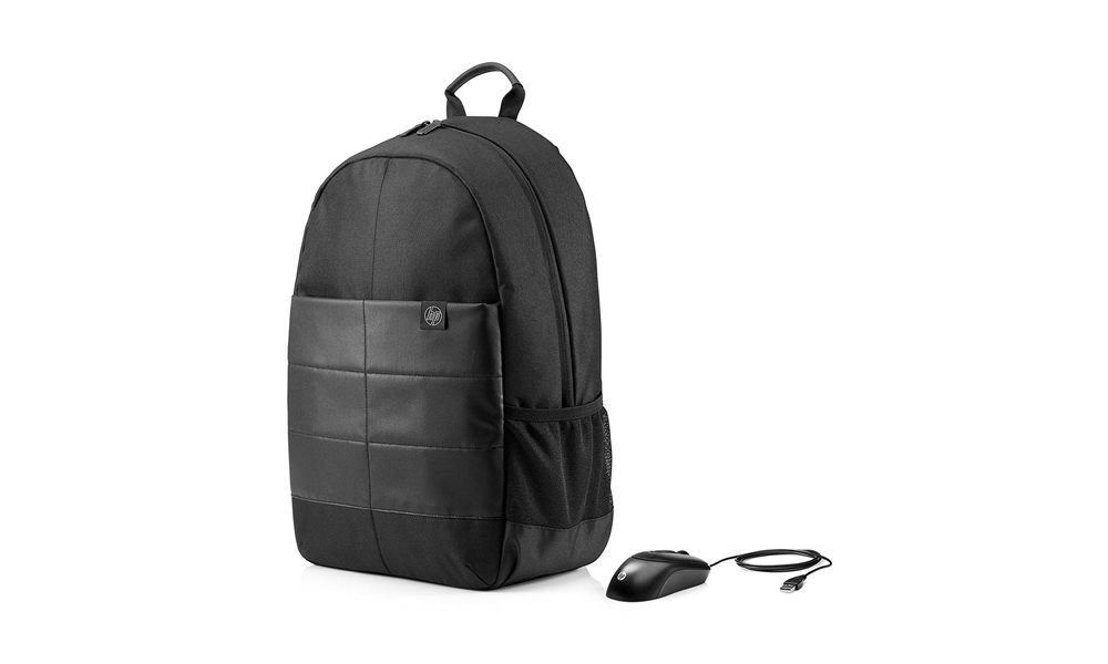 HP 15.6 Classic Backpack and Mouse 1FK04AA