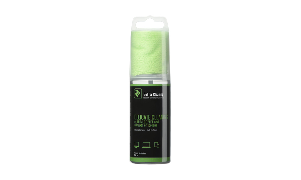 2E CLEANING KIT 150 ML GEL AND 15×15 CM CLOTH 2E-SK21G