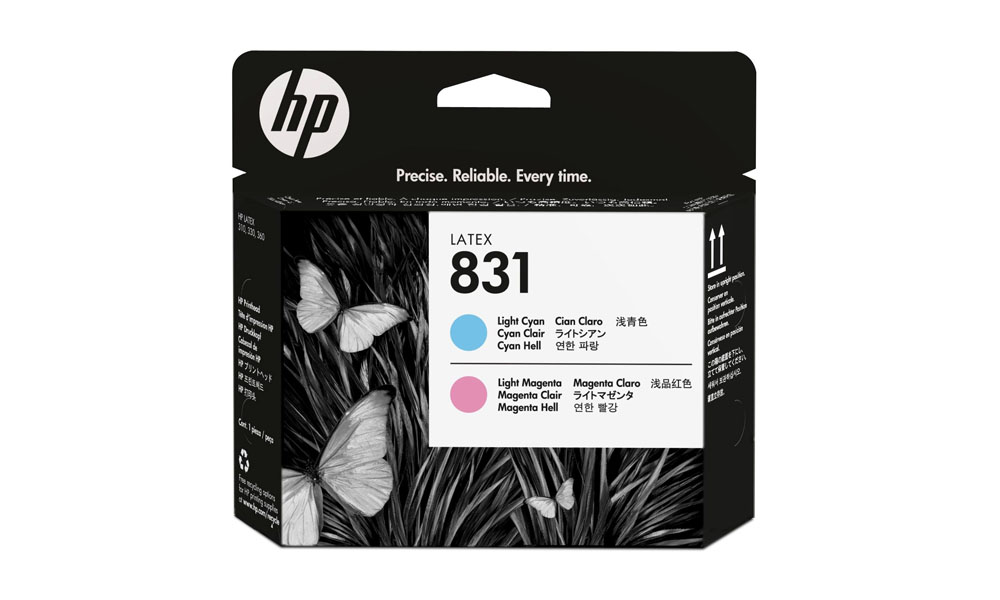 HP 831 Light Magenta/Light Cyan Latex Printhead CZ679A