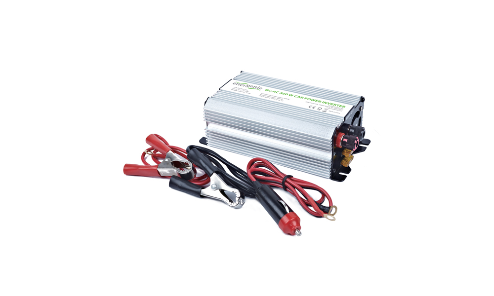 Energenie EG-PWC-032 12 V Car power inverter, 300 W, peak power 600 W, USB