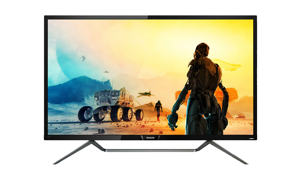 PHILIPS 4K HDR display with Ambiglow 436M6VBPAB/00 (009)