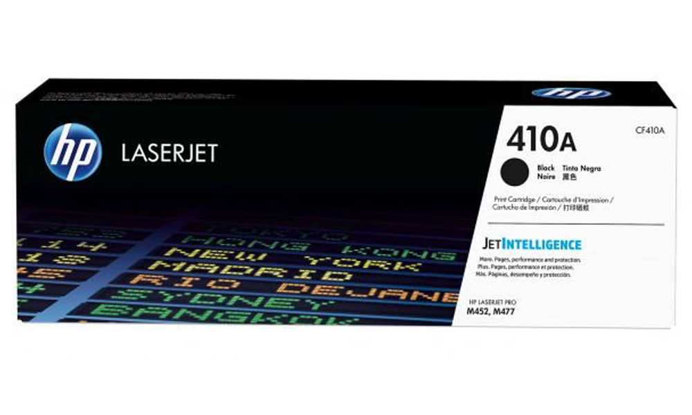 HP 410A Black Original LaserJet Toner Cartridge CF410A